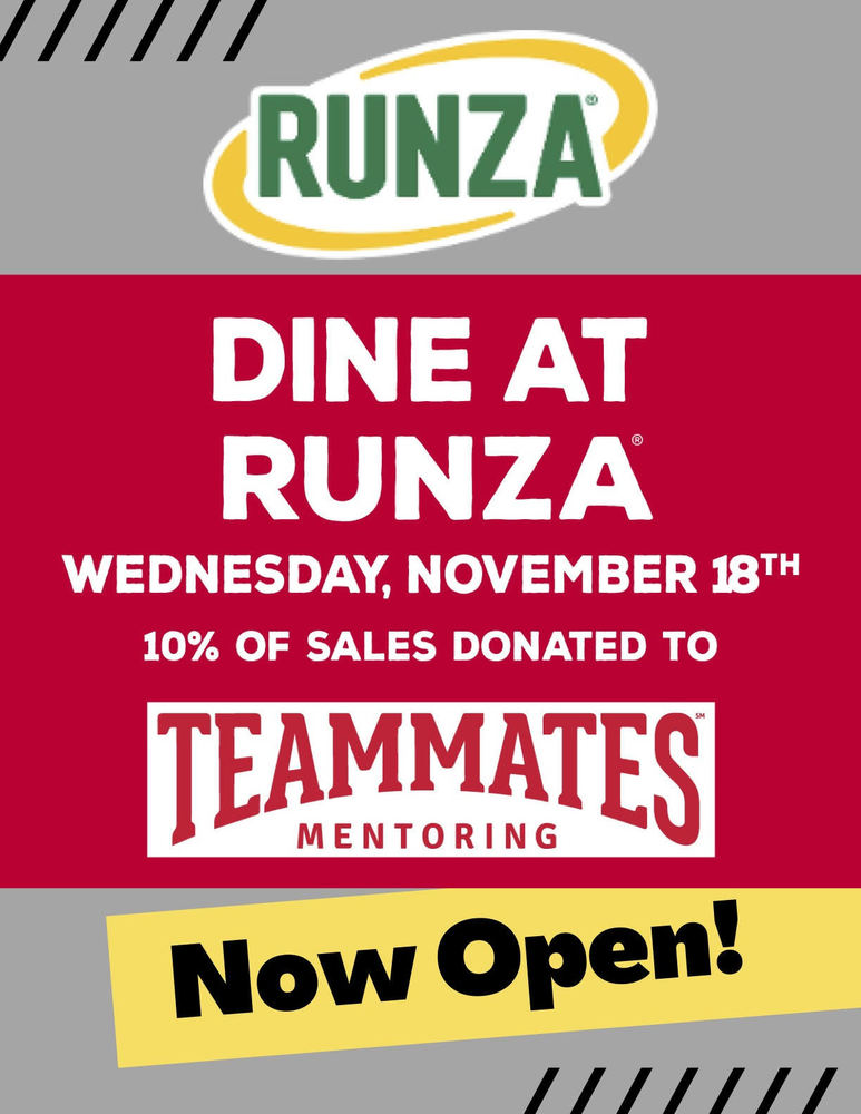 Teammates Fundraiser at Runza