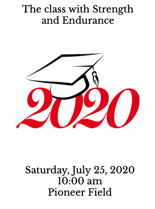 Class of 2020 Graduation Program