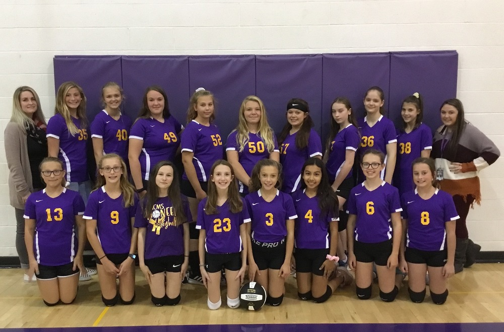 7th Grade Volleyball Team