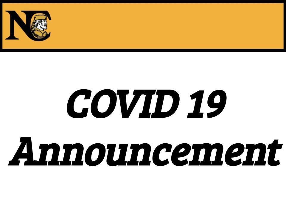 COVID 19 Announcement