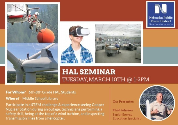 HAL Seminar on Tuesday, March 10th