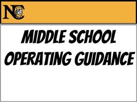 Middle School Operating Guidance