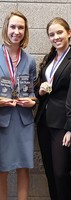 Ellie Higgins places tenth in National Speech Tournament