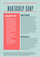 AfterSchool Clubs presents Makership Camp