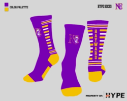Hayward Custom Socks
