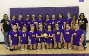 8th Grade Volleyball Team