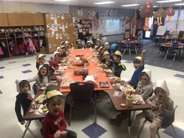 Happy Thanksgiving from Mrs. Houghton's Kindergarten