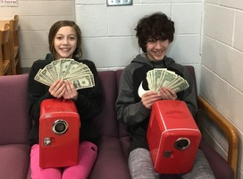 Mini Fridge and Cash Winners