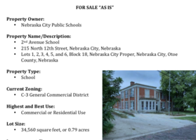 ​NOTICE OF PROPOSED SALE:  2nd Avenue School