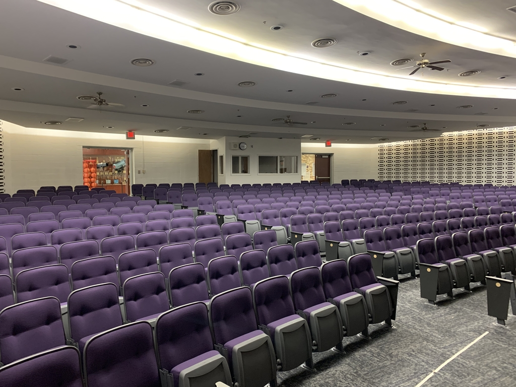 Auditorium update