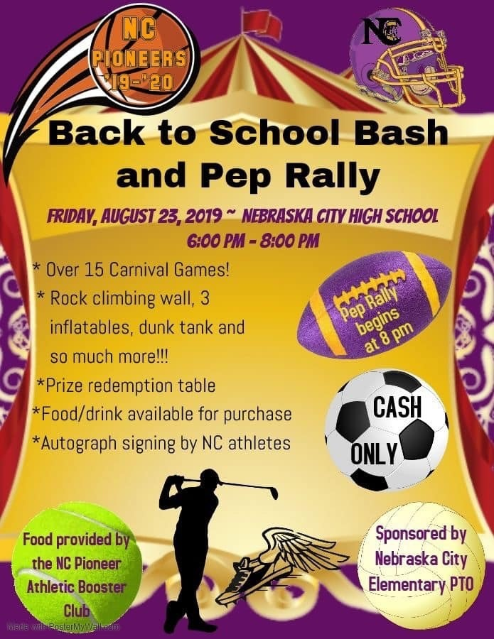 Back to School Bash Poster