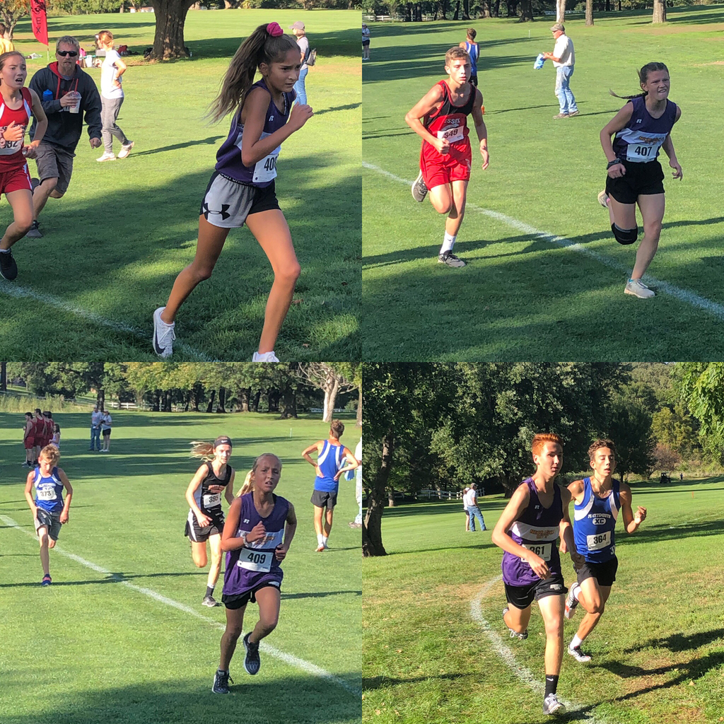 Great job NC middle school XC!!