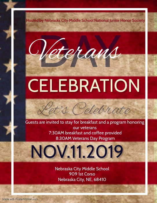 Veterans Day Program Information