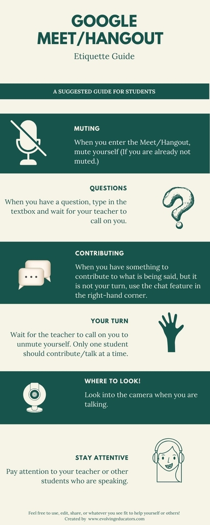 Virtual Meeting Etiquette Guide